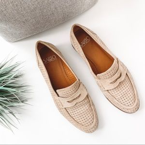 Franco Sarto Jolette Perforated Penny Loafers